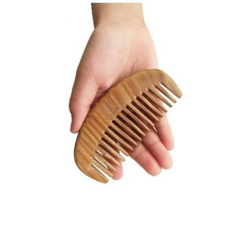 Sandalwood Wide-toothed Comb