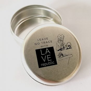Leave No Trace Round Travel Tin