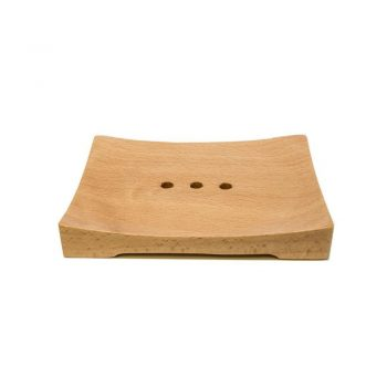 Large Rectangular Wooden Soap Dish